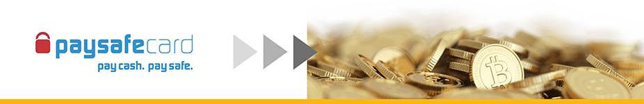 Bitcoins kaufen mit PaySafeCard