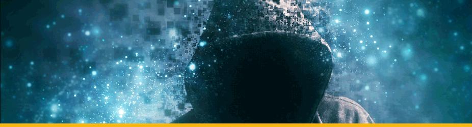 51%-Attacke - Anonymer Hacker mit Kapuzenpulli