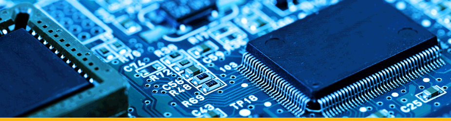 ASIC - Prozessoren Nahaufnahme