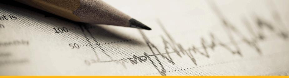 Bitcoin Price Index BPI - Nahaufnahme Bleistift und Aktienkurs